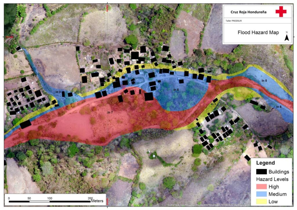 hazard map Avispa